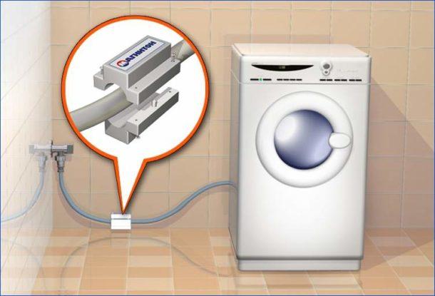 Магнитный фильтр для умягчения воды для стирки