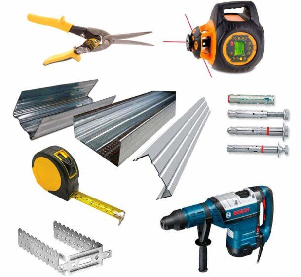 Для работы понадобятся некоторые специальные инструменты