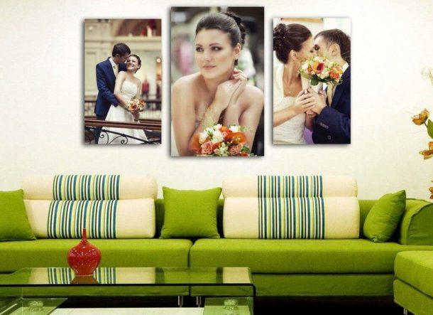 Для самостоятельного изготовления картины можно использовать любимые фотографии