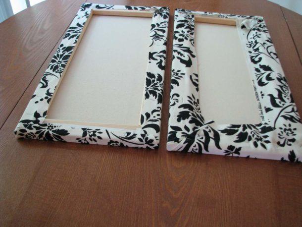 Изготовление самодельной составной картины из ткани