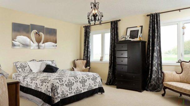 Вариант изделия для комнаты с классическим оформлением