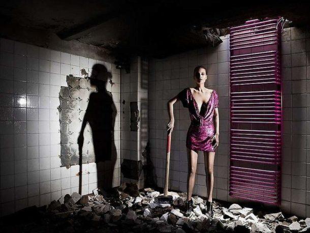 Переносим полотенцесушитель на другую стену