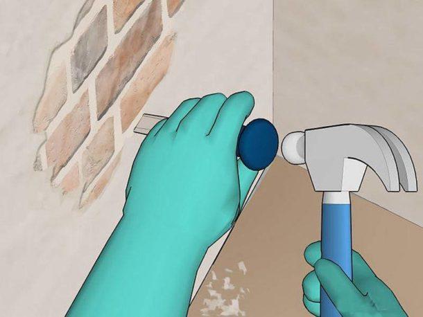 Перед нанесением штукатурной смеси стены необходимо подготовить