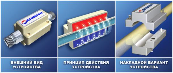 Под воздействием магнитного поля изменяется структура содержащихся в воде солей