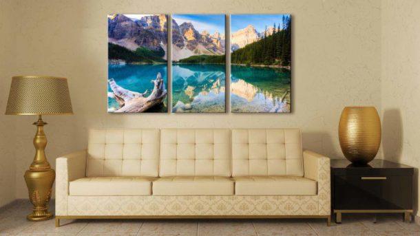 Сегментные изображения изготавливаются несколькими способами, самый популярный - фотопечать