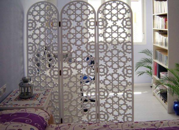 Складная конструкция отлично подходит для спальни