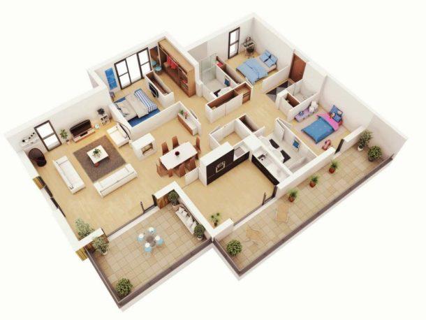 Обновленная квартира