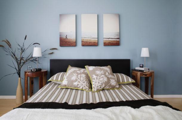 В комнате для отдыха приветствуются спокойные изображения