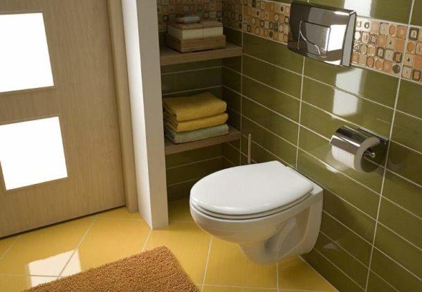 Дизайны подвесных туалетов