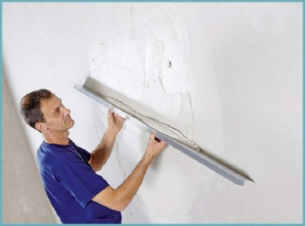 Как правильно штукатурить стену цементным раствором без маяков видео бетон в 15 купить в спб