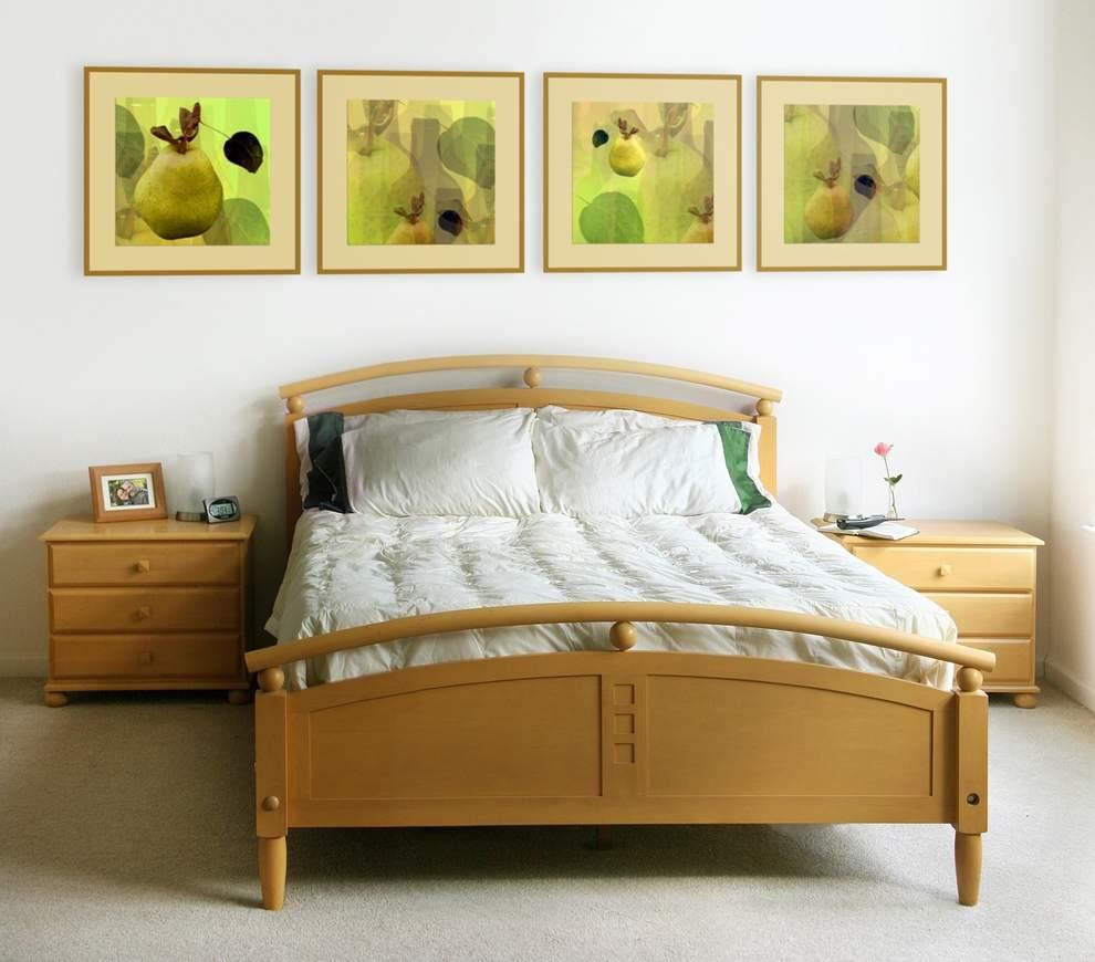 Кровать по фен шую картинка
