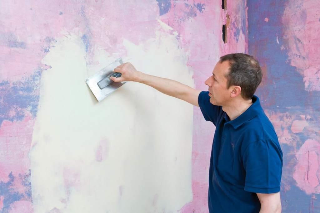 Чем шпаклевать стены под покраску своими руками 994
