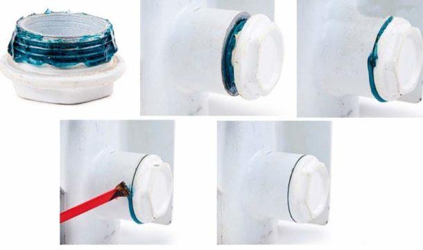 Применение анаэробного геля-герметика в сантехнике