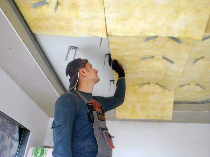 Звукоизоляция натяжных потолков в квартире своими руками