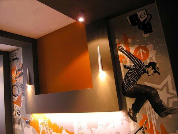 Разрисовка стен всегда уникальна и неповторима