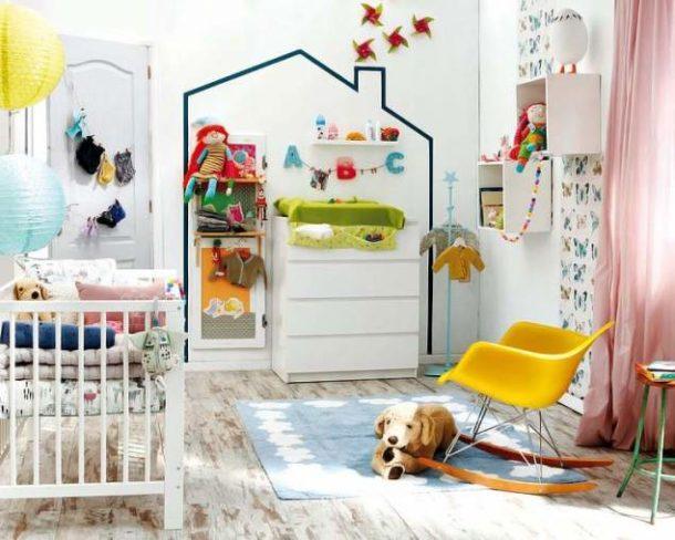Детские игрушки и принадлежности - лучший декор