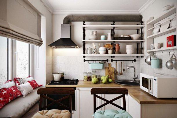 Неповторимый дизайн кухни в скандинавском стиле