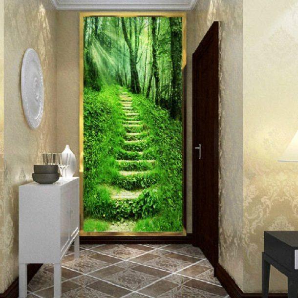 Фотообои для маленького коридора