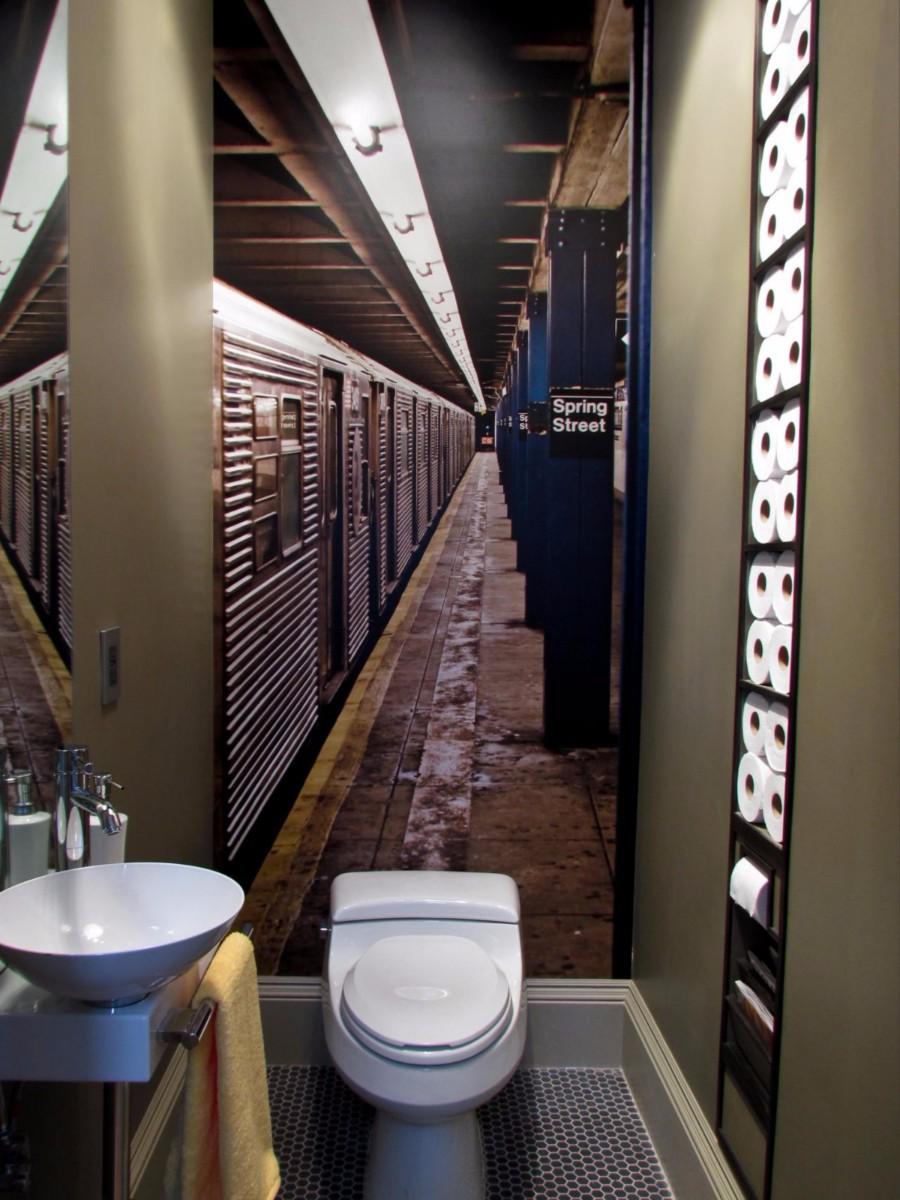 Фото ремонта туалета дизайн 18