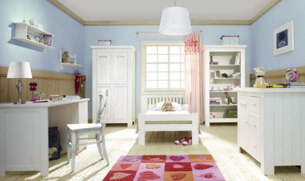 Уютный интерьер детской в скандинавском стиле