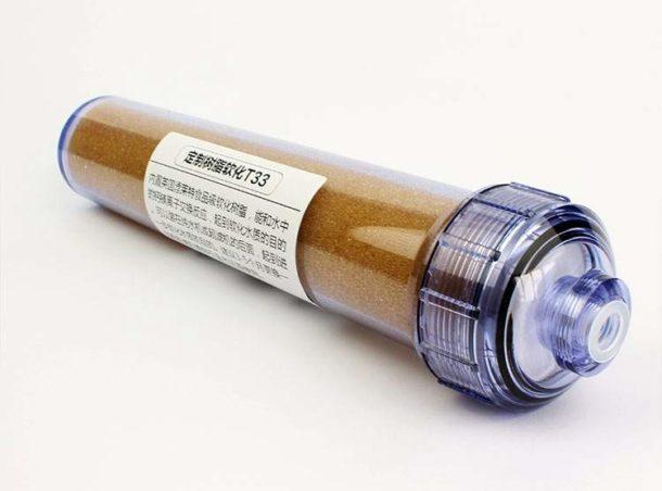 Элемент для очистки воды при помощи ионообменных смол
