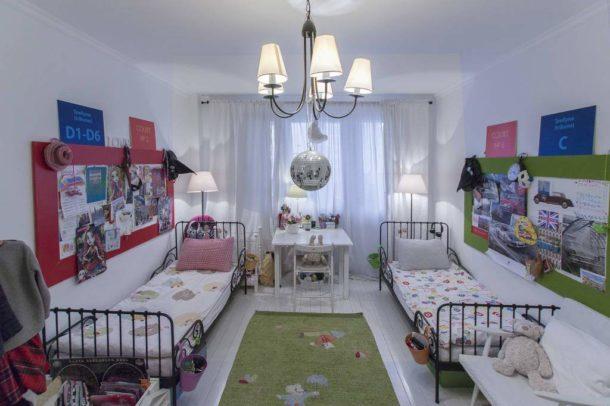 Многоуровневое искусственное освещение в детской