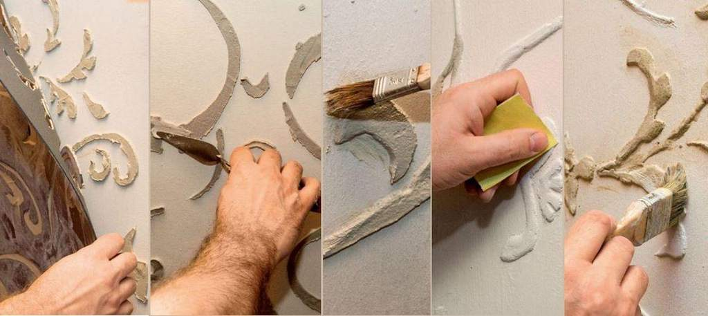 Барельеф на стене своими руками материалы