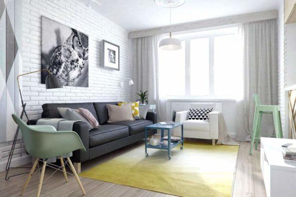 Минимум удобной мебели без излишеств