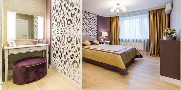Способ зонирования спальни