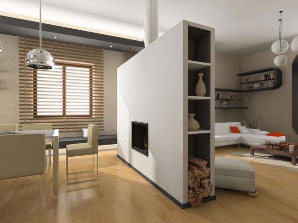 Гипсокартон - отличный материал для быстрого изготовления функциональных элементов декора