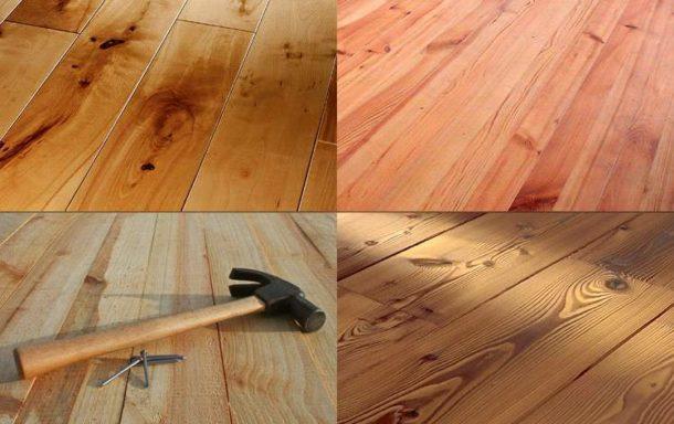 Существует несколько вариантов ремонта деревянного покрытия