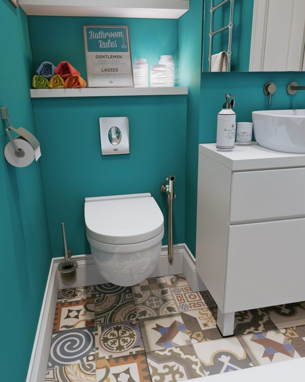 Реализуем идеи ремонта туалета своими руками