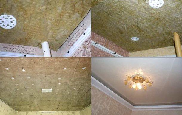 Делаем шумоизоляцию потолка под натяжной потолок