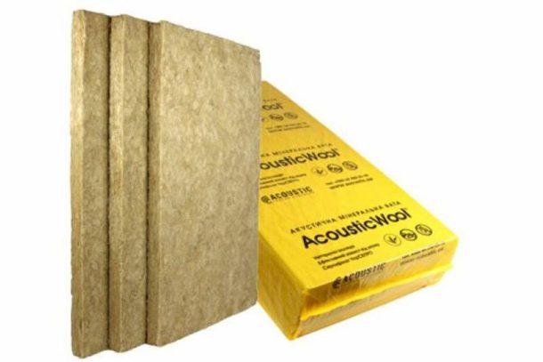 Минеральная вата является доступным и эффективным шумоизолирующим материалом