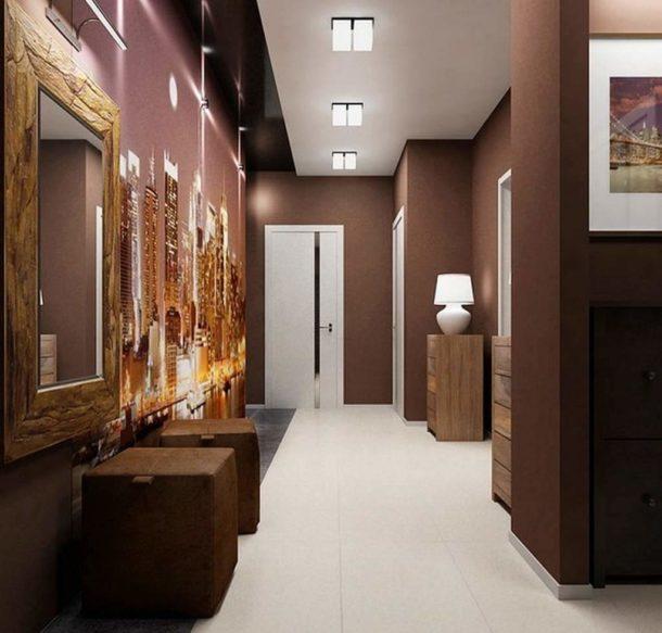 Темные цвета добавят уюта, но требуют очень хорошего освещения