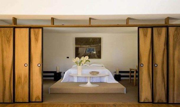 Трансформируемая раздвижная деревянная конструкция