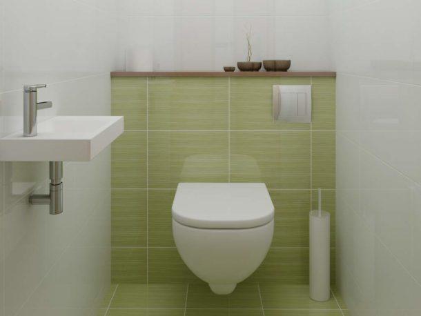 Японские мотивы в интерьере туалета