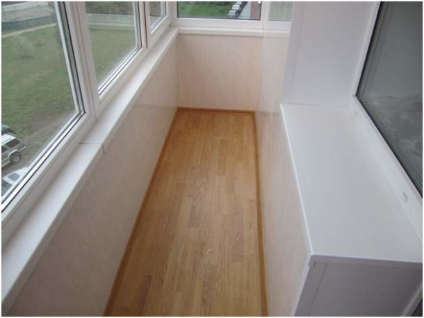 Утепляем пол на балконе