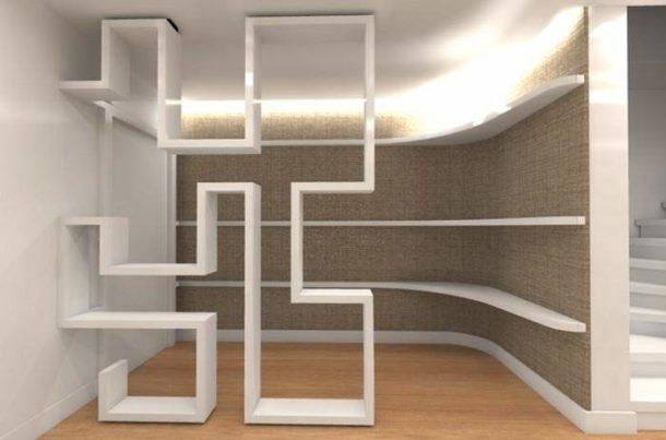 Благодаря возможностям ГКЛ из этого материала можно создать самую замысловатую конструкцию