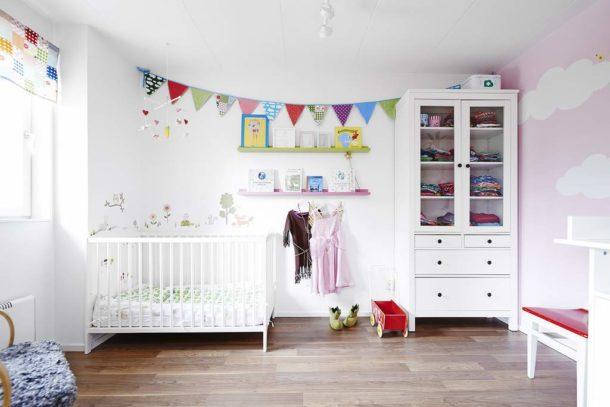 Комната для ребенка должна быть самой светлой не только ради соответствия стилевому направлению