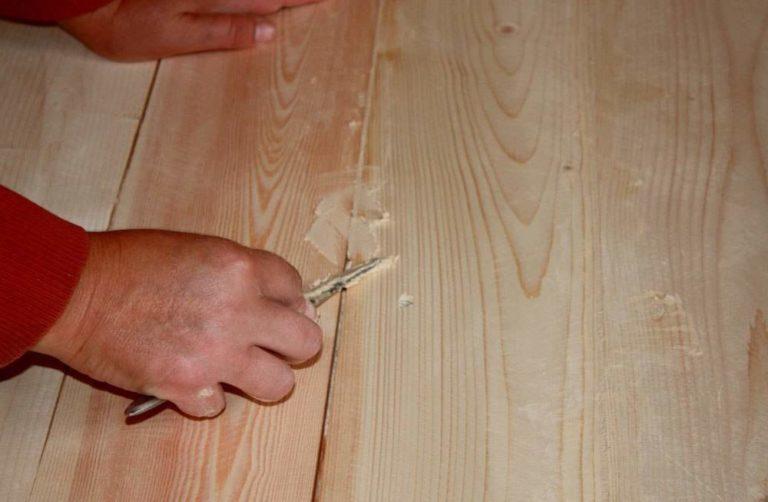Как самому сделать шпаклёвку по дереву