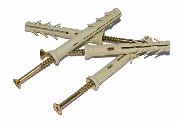 Дюбель-гвозди для крепления металлокаркаса к стенам и потолку