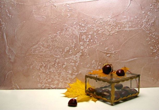 Фактурная краска для покраски стен
