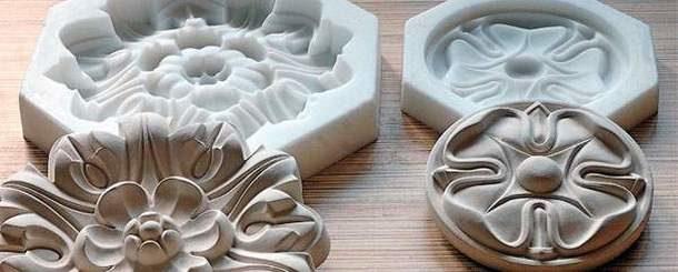 Готовые формы для литья из гипса