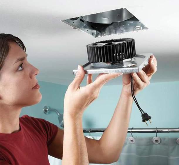 Вентиляция в туалете дует в квартиру