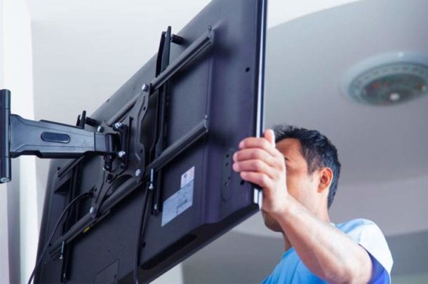 Можно ли вешать телевизор на гипсокартон