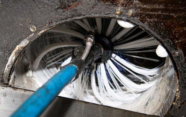 Очистка воздуховода