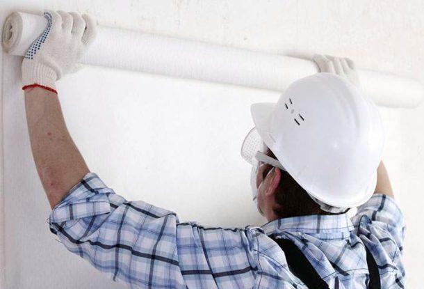 Готовим стены и потолок из ГКЛ к поклейке обоев