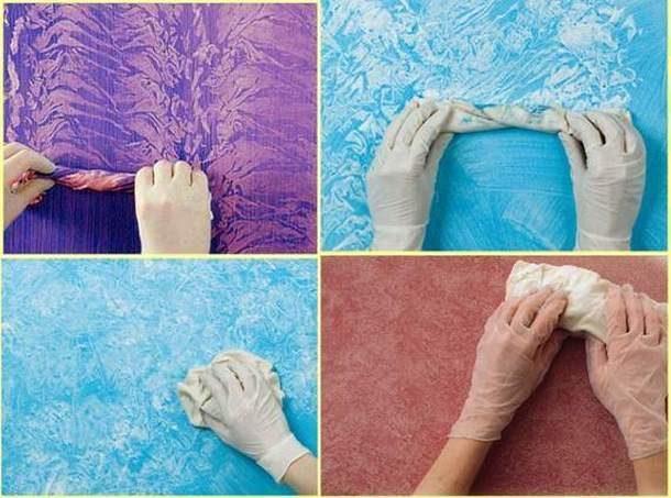 Использование ткани для создания эффектов