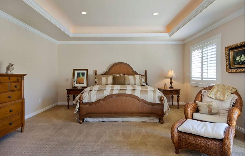Потолки из гипсокартона 7 фото для спальни
